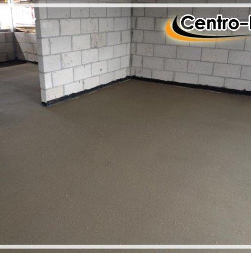 Толщина цементно песчаного