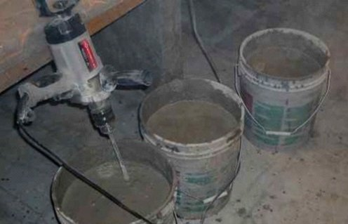 Cementnyj rastvor dlja