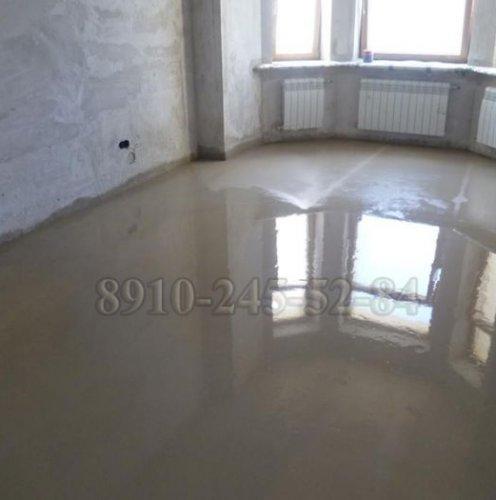 Песчано-цементная стяжка пола